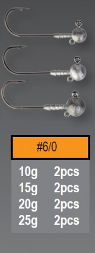 Savagear Ball Jig Head 15gr No:6/0-3adet