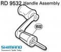 RD 9532 Handle assembly