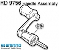 RD 9756 Handle assembly