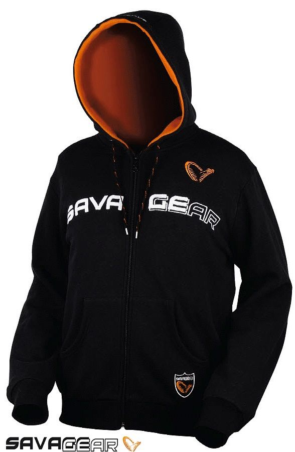SAVAGEAR HOODED SWEAT JACKET - MEDIUM  KAPŞONLU POLAR