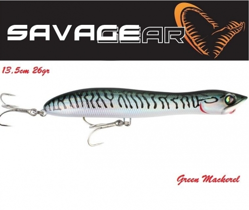Savage Gear Panic Prey 13,5cm 26gr Green Mackerel