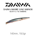Daiwa Shore Line Shiner Slender14 Metallic Throung