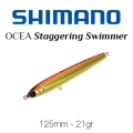 SHIMANO STAGGERING SW 125MM 21GR 14-T