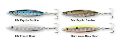 SAVAGE GEAR PSYCHO SPRAT 60 GR 06-LEMON BACK FLASH