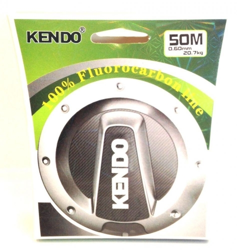 Kendo %100 Fluorocarbon 0,23mm 50mt