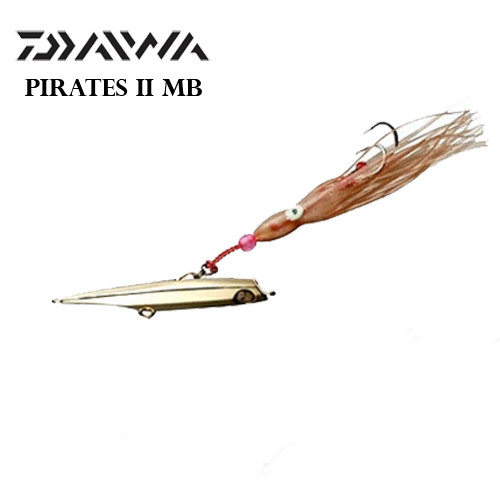 Daiwa Lure Pirates II MB 170gr Platin GD Jig