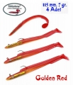 EDDYSTONE SEA BASS 11,5CM 7GR SİLİKON 4 AD G.RED