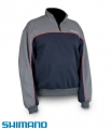 SHIMANO FAN WEAR HALF ZIP SWEATER L