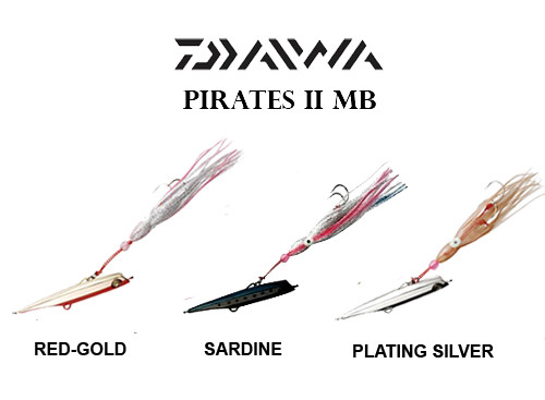 DAIWA PIRATES II MB 170 GR SET