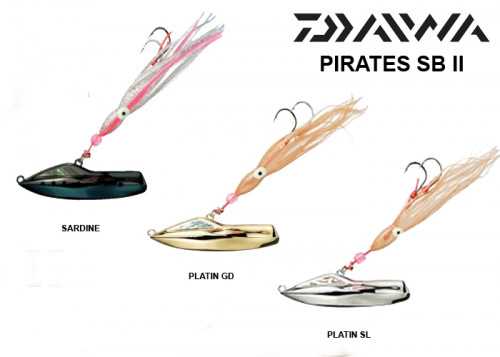 Daiwa Pirates II SB 190gr Set