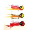 KENDO OCTOPUS JİG 100GR BLOOD RED BOMB