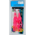 Shimano Octopus Squid Hook Skirt Pembe Ahtpot