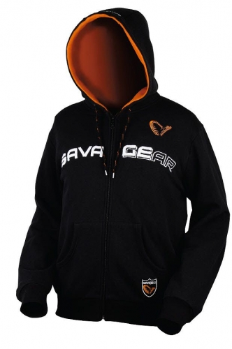 SAVAGEAR HOODED SWEAT JACKET - LARGE KAPŞONLU POLAR