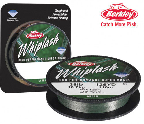 BERKLEY WHIPLASH GREEN  0.08MM 300M İP MİSİNA