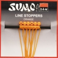SUMO FADENSTOPPER ORANGE 6 ST (0,45mm/4mm)