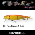 SAVAGEAR 4 PLAY 9,5CM 8,5GR BLUE ORANGE & GOLD