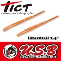Tict Lizardtail 2,4-Sand Orange (Turuncu)