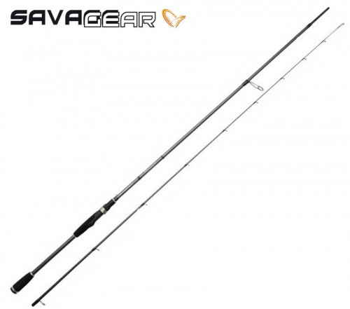 savage-gear-fine Savage gear Finezze Lure 250 cm L 5-21 gr 2 Parça Spin Kamışı